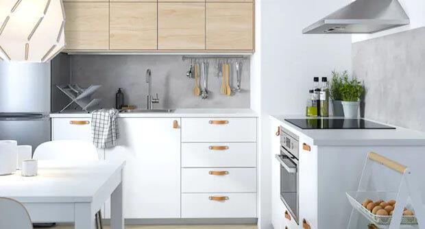 Har du IKEA køkken? Find dine hvidvarer her